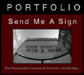 Send Me A Sign - Portfolio Site